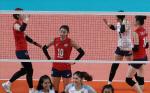 [여자배구] 한국, 태국에 충격 패...대회 2연패 좌절