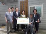 건협 부산검진센터, 동래구장애인협회에 사회공헌성금 전달