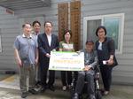 한국건강관리협회 부산건강검진센터, 동래구장애인협회에 성금 전달