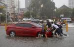 태풍 '망쿳' 필리핀 강타…15일 새벽 필리핀 북부 로손섬 상륙