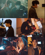 '손 the guest' 김동욱-김재욱-정은채, 화면 꿰뚫는 날카로운 눈빛