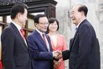 '면담 노쇼' 논란 여야 3당 대표, 북한 김영남 최고인민회의 상임위원장 만났다