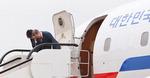 북한 떠나는 문재인 대통령