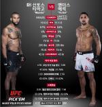 [UFC] 산토스VS앤더스 라이트 헤비급으로 맞대결