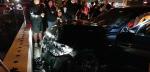 음주 차량, 보행자 덮쳐 3명 중상…운전자 만취 상태
