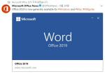 마이크로소프트 'MS오피스 2019' 오늘(2일) 국내 출시...주요 기능은?