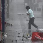 초강력 태풍 짜미 일본 강타…4명 사망·실종·130여명 부상