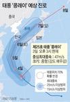 태풍 '콩레이' 접근…4일 밤~주말 강풍·폭우 예고