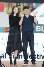 """[제23회 BIFF - 마녀] 김다미, 박훈정 감독 """"마녀 같지 않은 친근한 미소"""""""