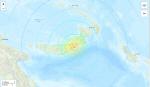 '불의 고리' 파푸아뉴기니 규모 7.0 지진...규모 5.0 이상 여진도