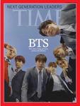방탄소년단, '차세대 리더'로 미국 타임지 커버 장식