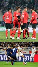 한국, 약체 파나마에 아쉬운 2-2 무승부...일본은 우루과이에 4-3 깜짝 승리