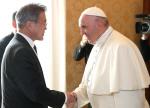 """프란치스코 교황 방북 초청 수락 """"나는 갈 수 있다""""…한반도 평화프로세스 탄력 전망"""