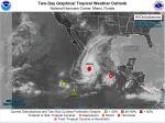 """초강력 허리케인 '윌라' 접근에 멕시코 초긴장...""""최대 250㎜ 폭우"""""""