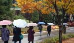 서리 내리는 상강에 수도권·충청도 미세먼지 나쁨 중부지방은 비