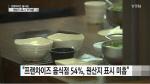 프랜차이즈 음식점 절반 원산지 표시 부적합 '미표시 허위표시 등'
