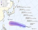 제26호 태풍 위투, '매우 강한 중형급 태풍'으로 발달…한국 피해 주나?