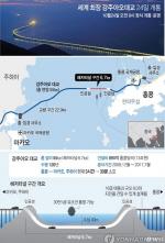 강주아오 대교 개통, 홍콩-마카오 30분 주파 '세계 최장 해상 대교'