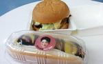 kt 스타 허훈·양홍석이 핫도그·햄버거 속에 쏙