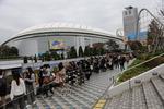 혐한 시위에도 도쿄돔은 BTS(방탄소년단) 열풍