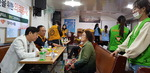 정선의료재단, 동구 안창마을 범내교회에서 의료봉사활동