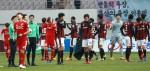 '부산의 눈물'... 프로축구 2년 연속 승강PO서 좌절