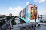 인천 내항 슈퍼 그래픽 기네스북 등재 '세계에서 가장 큰 야외벽화'