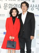 [국제포토] 여에스더, 홍혜걸 '박사 부부의 나들이' (KCA 문화연예 시상식)