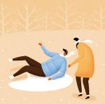겨울철 꽁꽁 언 빙판길 조심! 낙상과 골절
