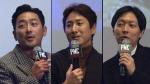 [영상] 부산 시사회를 뜨겁게 달군 하정우X이선균 '입담'(PMC:더 벙커)