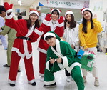 온종합병원 임직원들, 병동 및 외래환자 대상 크리스마스 행사 진행