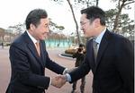 이재용 삼성전자 부회장 만난 이낙연 총리
