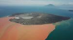 해수면 위로 새땅 솟아올라…쓰나미 유발 印尼 화산섬 '이변'