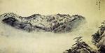 [황정수의 그림산책] 단발령에서 바라본 금강산