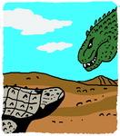 [도청도설] 사투리 공룡