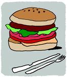 [도청도설] 햄버거 만찬