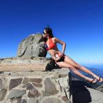 우지윈 '대만 비키니 등반가' 저체온증 사망