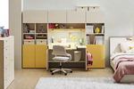 [행복한 공간 똑똑한 가구] 공부방, 상판 높이 조절되는 책상·조명 300룩스 이상 좋아