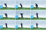 PGA 연습 라운딩하는 '낚시꾼 스윙' 최호성
