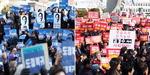 김경수 석방하라 vs 사퇴하라…창원서 주말 맞불 집회