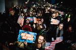국가비상사태 선포에 항의하는 미국 시민들