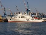한국해양대, 신조 실습선 '한나라호' 명명식 21일 오후 2시 한진중공업 영도조선소
