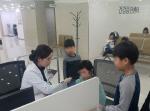 건협 부산검진센터, 남광아동복지원 무료 건강검진 실시