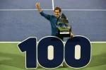 테니스 황제 페더러, 투어 통산 100회 우승 대기록