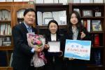 동의대 경영대학원 AMP 48기 홍선화 부회장, 대학원생에 장학금 전달