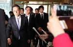 강제징용 배상문제 논의…외교부 찾은 일본 외무성