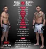 [UFC] 페티스 웰터급 도전 VS 톰슨 상위권 도약 발판