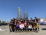 경성대 미식축구부 드래곤즈, 서울국제마라톤·부산핑크런마라톤 참가