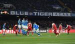 'UEFA 유로파리그' 아스날, 나폴리에 1-0 리드 '라카제트 프리킥 골'