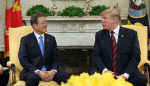 """CNN """"文대통령, 김정은에 전달할 트럼프 메시지 갖고 있어"""""""